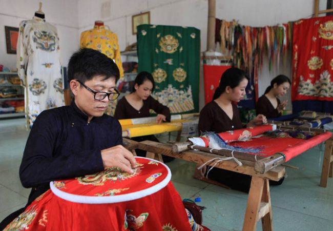 Vietnamese Royal Embroidery