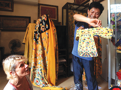 Village promotes traditional craft
