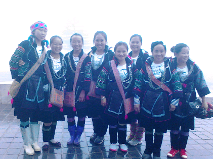 Fashion with Hmong people in Vietnam
