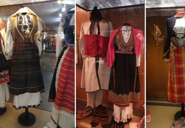 Women's traditional clothing in Bulgaria and European fashion