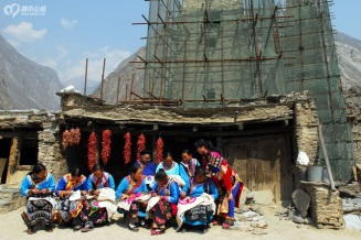 Qiang Embroidery Aid Project