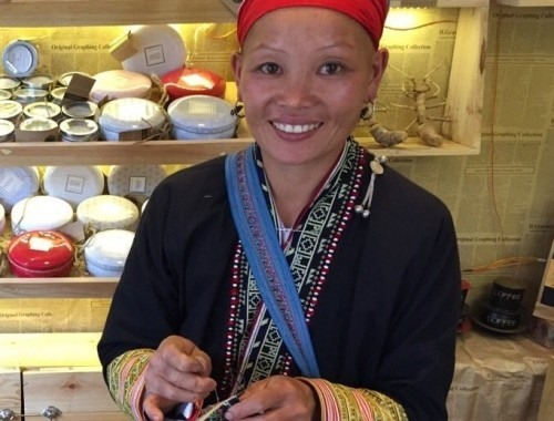 Ethnic woman vows to preserve traditional embroidery